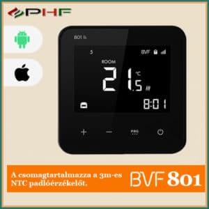 BVF 801 okostermosztát fekete