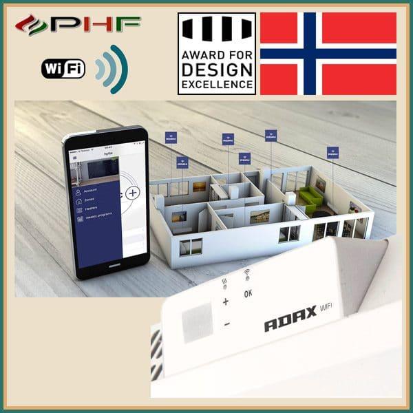 Adax Neo Wifi H norvég fűtőpanel