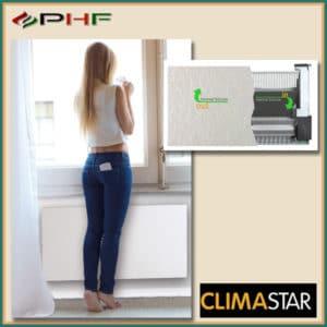 climastar fehér kasmír fűtőpanel
