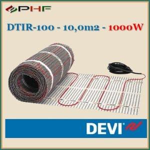 devicomfort 100, DTIR-100-1000W elketromos fűtőszőnyeg