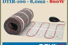 Devi fűtőszőnyeg devicomfort DTIR-100 - 800W