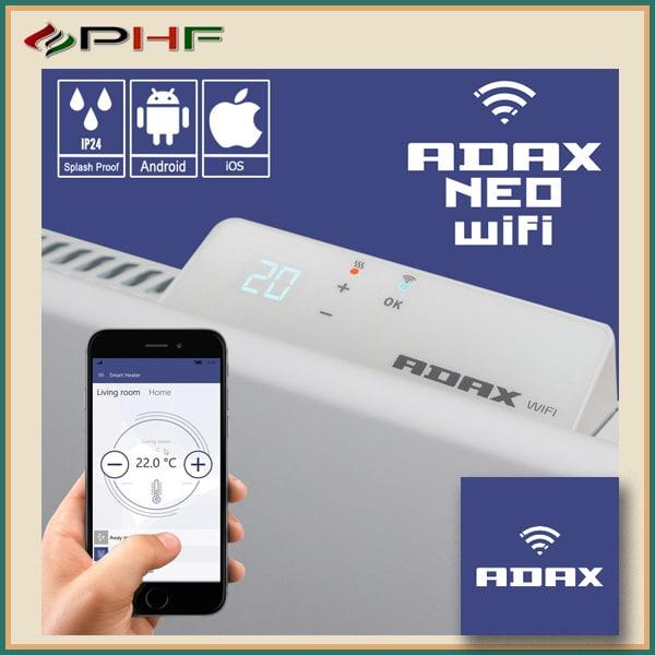 Adax Neo Wifi L fűtőpanel