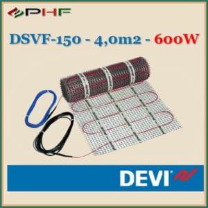 Deviheat fűtőszőnyeg, DSVF-150, 150W/m2 - 4,0m2-600W