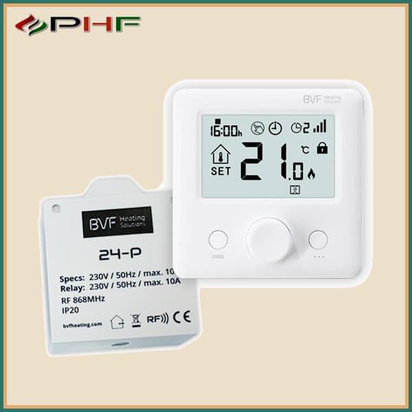 bvf 24 FP infrapanel termosztát